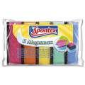 Houbičky na nádobí Spontex - Megamax, barevné, 5 ks