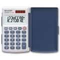 Kapesní kalkulačka Sharp EL-243S - stříbrná
