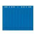 Rozlišovače Office Depot A4, barevné s europerforací, modré, 100 ks