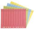 Rozlišovače Office Depot A4 barevné s europerforací, žlutá, 100 ks