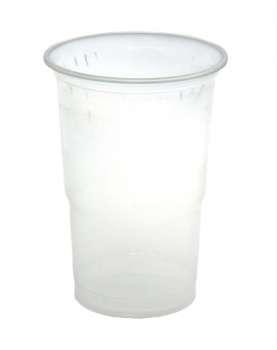 Plastový kelímek - 0,5 l, čiré, 50 ks
