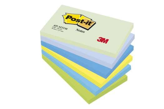 Bloček  Post-it barevný 127x76 mm, sny