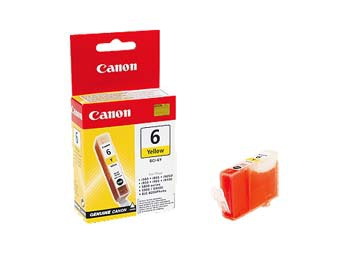 Cartridge Canon BCI-6Y - žlutá