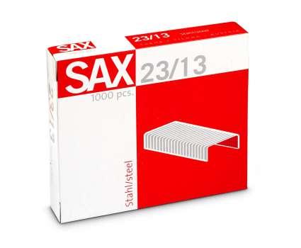Drátky do sešívaček Sax 23/13 - 1 000 ks