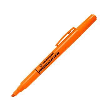 Zvýrazňovač Centropen 8722 - oranžová, 10 ks