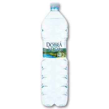 Voda přírodní Dobrá voda neperlivá, 6 x 2 l