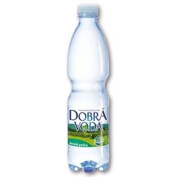 Voda stolní Dobrá voda - jemně perlivá, 8 x 0,5 l
