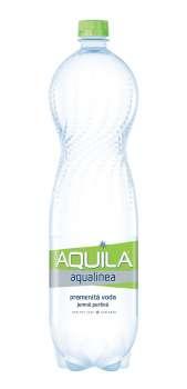 Stolní voda Aquila Aqualinea - jemně perlivá, 6 x 1,5 l