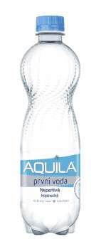 Stolní voda Aquila Aqualinea - neperlivá, 12 x 0,5 l