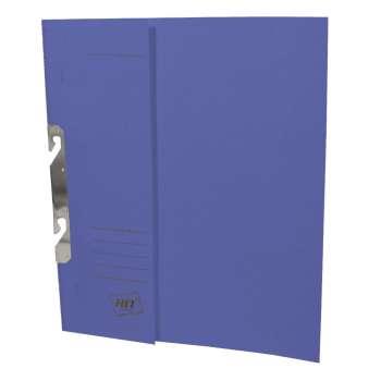 Rychlovazače HIT Office - závěsné, A4, papírové, modré, 50 ks