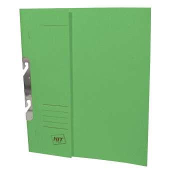 Rychlovazače HIT Office - A4, papírové, závěsné, zelená, 50 ks