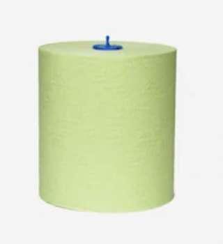 Papírové ručníky Tork - dvouvrstvé, 21 x 19 cm (š x v), zelené, 6 ks