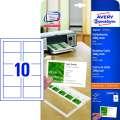 Obchodní vizitky - bílé, matné, 200g/m2, 250 ks