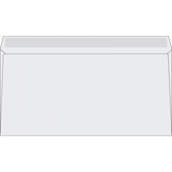 Obálky DL Office Depot - obyčejné, navlhčovací lepidlo, 1000 ks