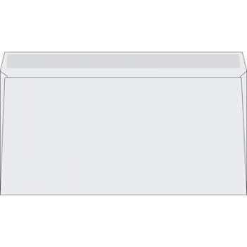 Obálky DL - obyčejné, 11 x 22 cm, 500 ks