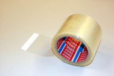 Balicí páska Tesa - čirá, 75 mm x 66 m, 1ks