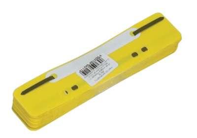 Úchytky do rychlovazače žlutá, 25 ks