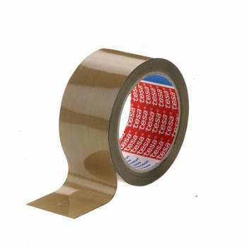 Balicí páska Tesa - hnědá, 48 mm x 66 m, 1 ks