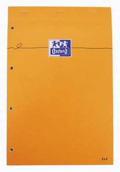 Blok Oxford Everyday - A4+, 80 listů, čtverečkovaný, s pevnými zády