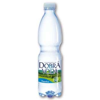 Voda stolní Dobrá voda - neperlivá, 8 x 0,5 l