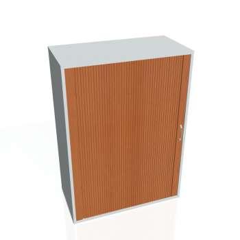 Policová skříňka Drive, roletové dveře