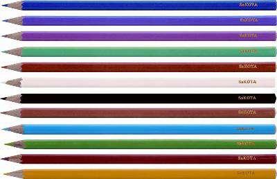 Pastelky Sakota, 12 barev