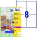 Etikety na zásilky Avery Zweckform - bílé, 99,1 x 67,7 mm, 800 ks