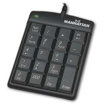 Numerická klávesnice Manhattan USB