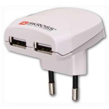 USB nabíječka Skross - 2 výstupy