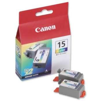 Cartridge Canon BCI-15C - tříbarevná