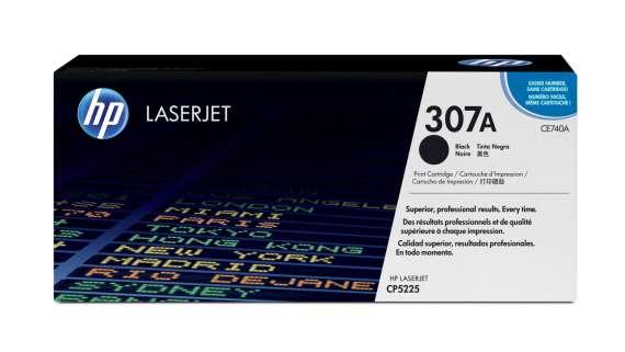Toner HP CE740A/307A - černá
