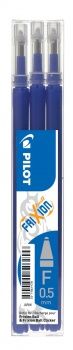 Náplň pro gelový roller Pilot Frixion 0,25 mm - modrá, 3 ks