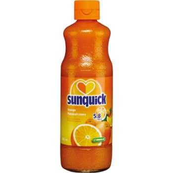 Sirup Sunquick - ovocný pomeranč, 580 ml