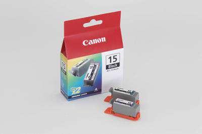 Cartridge Canon BCI-15BK - černá