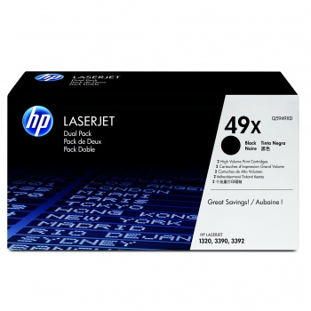 Toner HP Q5949XD/49X - černá, dvojbalení