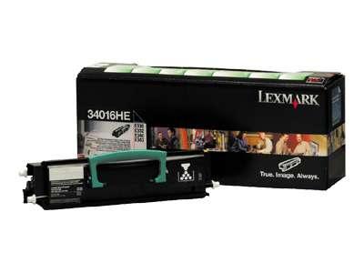 Toner  Lexmark 34016HE, černá