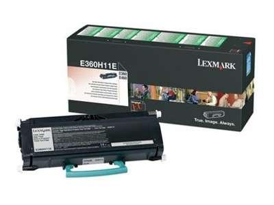 Toner  Lexmark E360H11E, černá