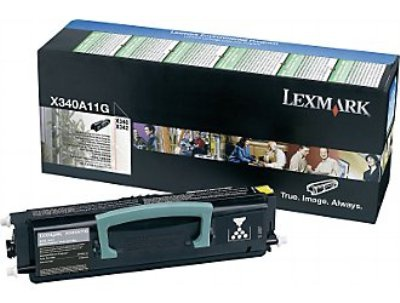 Toner  Lexmark X340A11G, černá