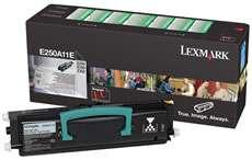 Toner Lexmark E250A11E - černý