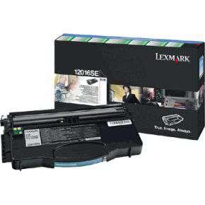 Toner Lexmark 12016SE - černá