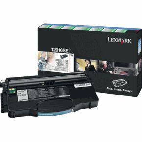 Toner Lexmark 12016SE - černý