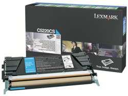 Kazeta tonerová Lexmark C5220CS, azurová