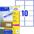 Samolepicí adresní krycí etikety Avery Zweckform - 99,1 x 57 mm, 1000 ks