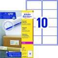 Samolepicí etikety na balíky Avery Zweckform - 99,1 x 57 mm, 1000 ks