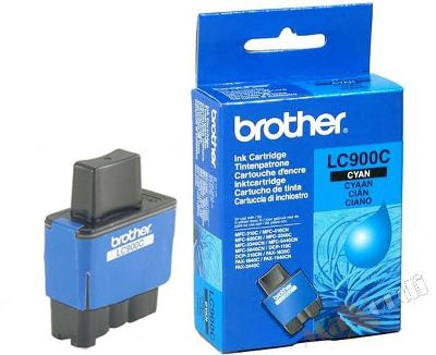 Cartridge Brother LC900C - azurová