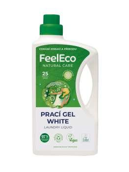 Gel na praní - Feel Eco, bílé prádlo, 1,5 l