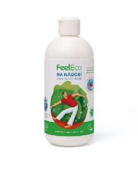 Prostředek na nádobí Feel Eco, 500 ml