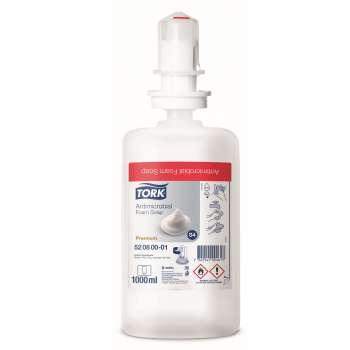Pěnové mýdlo - Tork Premium, antimikrobiální, 1 l