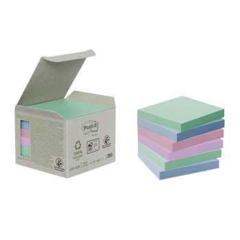 Bločky Post-it recyklované 76x76 mm, mix barev