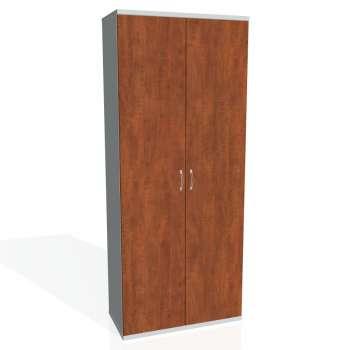 Šatní skříň policová Strong, plné dveře
